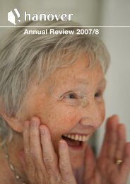 Annual Review 2007/8 - Hanover