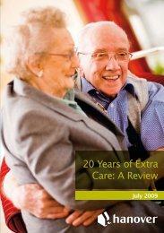 20 Years of Extra Care: A Review - Hanover