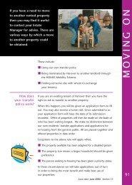 Residents Handbook Moving On - Hanover