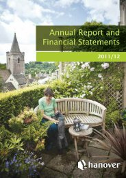 Annual report and Financial Statements 2011/12 - Hanover