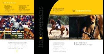 Brochure - the American Hanoverian Society!