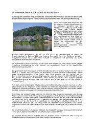 bit Informatik GmbH & DGF STOESS AG Success Story