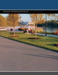 Hanover® Architectural Products | Hanover® Asphalt Block