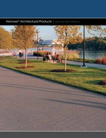 Hanover® Architectural Products | Hanover® Asphalt Block