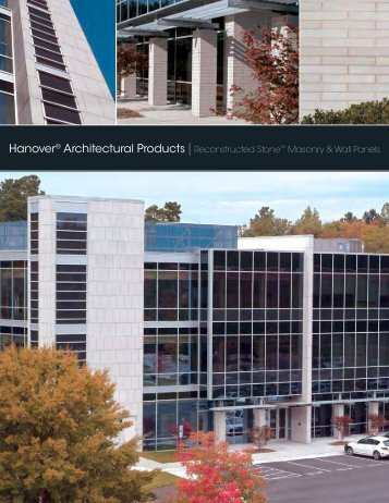 Hanover® Architectural Products| Reconstructed Stone™ Masonry ...