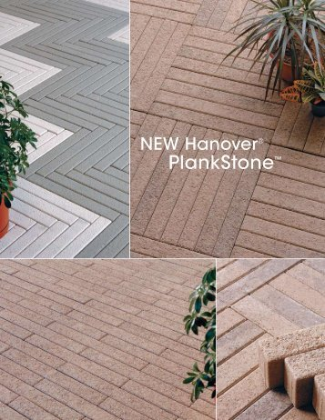 PlankStone™ - Hanover® Architectural Products
