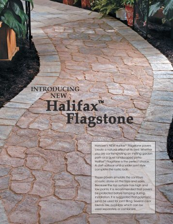 Halifax™ Flagstone - Hanover® Architectural Products