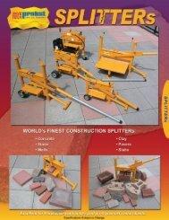 1908-PaveTech®/Probst Splitters
