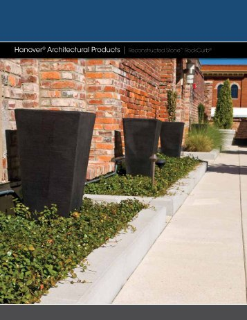 Reconstructed Stone™ Curbing - Hanover® Architectural Products