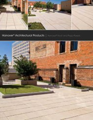Hanover® Architectural Products | Hanover® Roof and Plaza Pavers