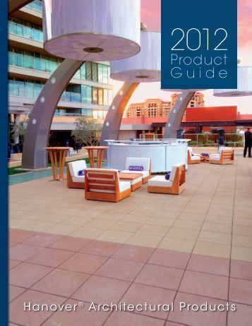 Product Guide - Hanover® Architectural Products