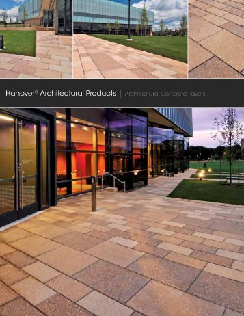 Hanover® Architectural Products | Architectural Concrete Pavers