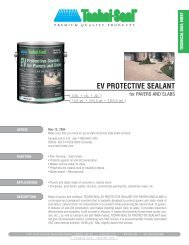 EV PROTECTIVE SEALANT - Hanover® Architectural Products