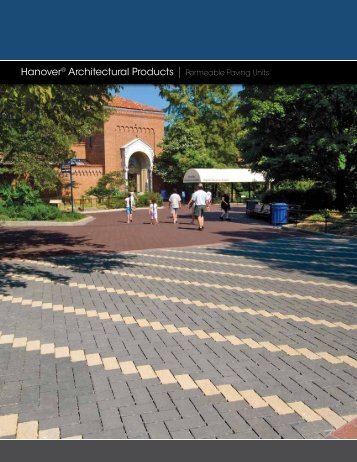 Hanover® Architectural Products | Permeable Paving Units