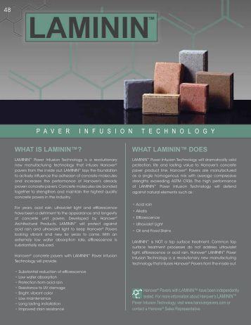 LAMININ - Hanover® Architectural Products