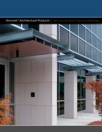 Hanover® Architectural Products | Reconstructed Stone™ Masonry ...