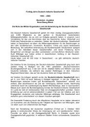 50 Jahre Deutsch-Indische Gesellschaft 1953-2003 (pdf)