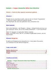 Datteln + Feigen Glutenfrei Eifrei Kuh Milchfrei - Glutenfrei kochen ...