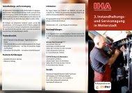 3. Instandhaltungs- und Servicetagung in Weiterstadt - Hansa Flex