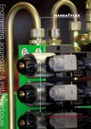Engineering, aggregaat- & installatiebouw - Hansa Flex