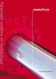 Partenaire systèm e en hydraulique - Hansa Flex