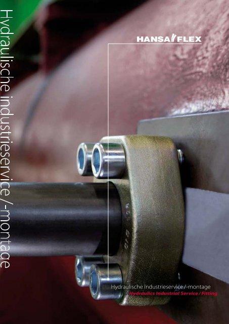 Hydraulische industrieservice /-montage - Hansa Flex