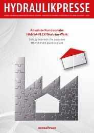 HYDRAULIKPRESSE 2/2013 - einseitig - Hansa Flex