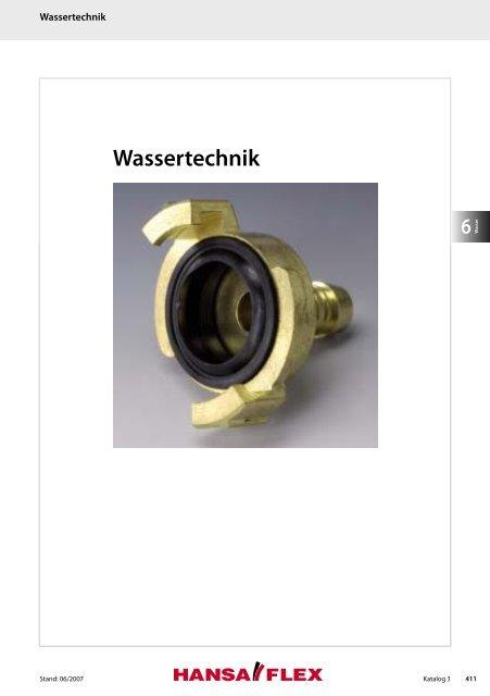 Wassertechnik - Hansa Flex
