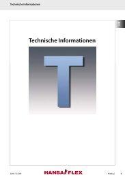 Technische Informationen - Hansa Flex