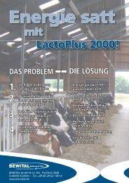 mit LactoPlus 2000! - HANSA Landhandel