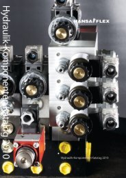 ISO/Cetop 03 – für Plattenaufbau - Hansa Flex