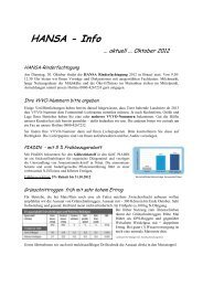 Rundschreiben 2 Oktober 2012 - HANSA Landhandel