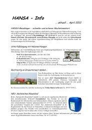 Rundschreiben 2 April 2013 - HANSA Landhandel