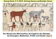 Georg Keckl, 2.11.2010. Vortrag Hansa Landhandel, Zeven Der ...