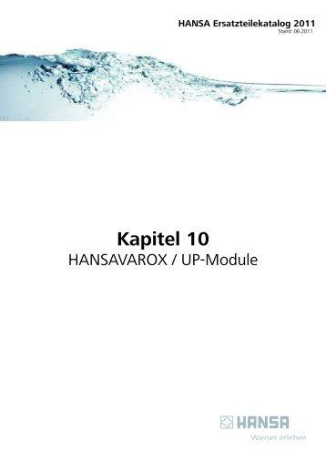HANSAVAROX Einbaukörper DN 15