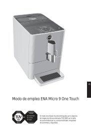 Modo de empleo ENA Micro 9 One Touch - Jura
