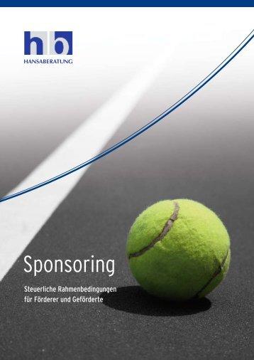 Sponsoring - November 2010 - Hansaberatung GmbH
