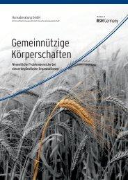 Gemeinnützige Körperschaften - Hansaberatung GmbH
