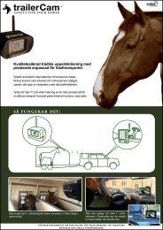 Produktblad TrailerCam.pdf - Hansbo Sport