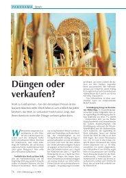 Stroh - Düngen oder verkaufen - Hanse Agro