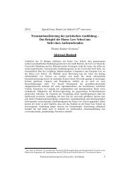 Abstract - Hanse Law Review