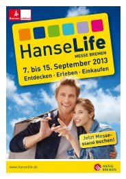 Ausstellermappe - HanseLife