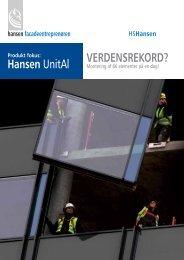Hansen UnitAl - 2009-05 - HSHansen - Hansen Group