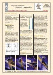 Architects Newsletter from MagHansen - September ... - Hansen Group