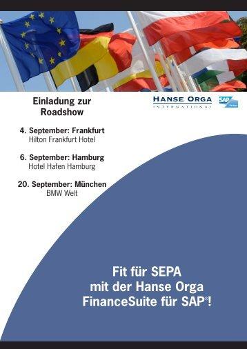 Flyer_Roadshow SEPA 2012.indd - Hanse Orga AG
