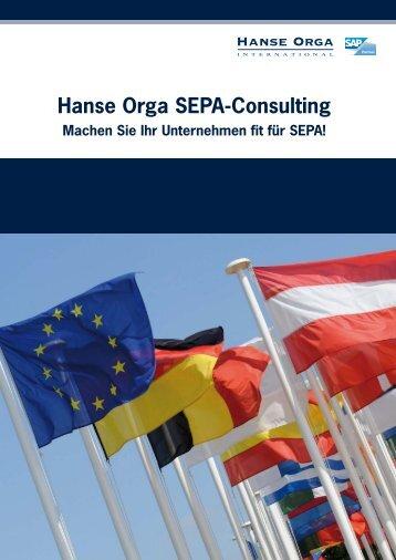 Hanse Orga SEPA-Consulting - Hanse Orga AG