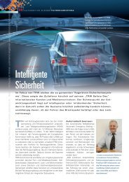 Intelligente Sicherheit - HANSER automotive