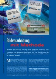 Bildverarbeitung - HANSER automotive