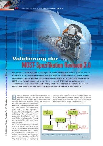 MOST-Spezifikation Revision 3.0 - HANSER automotive