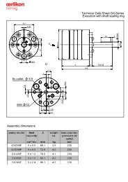 6x outlet 6,5 inlet 12 U Technical Data Sheet GX ... - Oerlikon Barmag